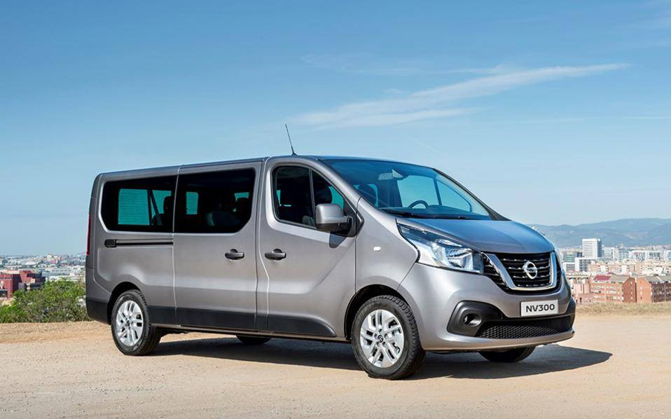 Nissan NV300 - 9 seats ***CHAUFFEURED SERVICE ONLY***